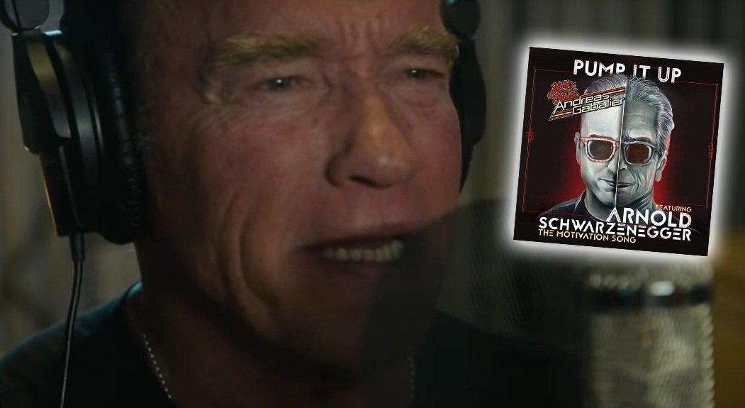 "WATCH: Arnold Schwarzenegger features in ""Pump It Up ..."