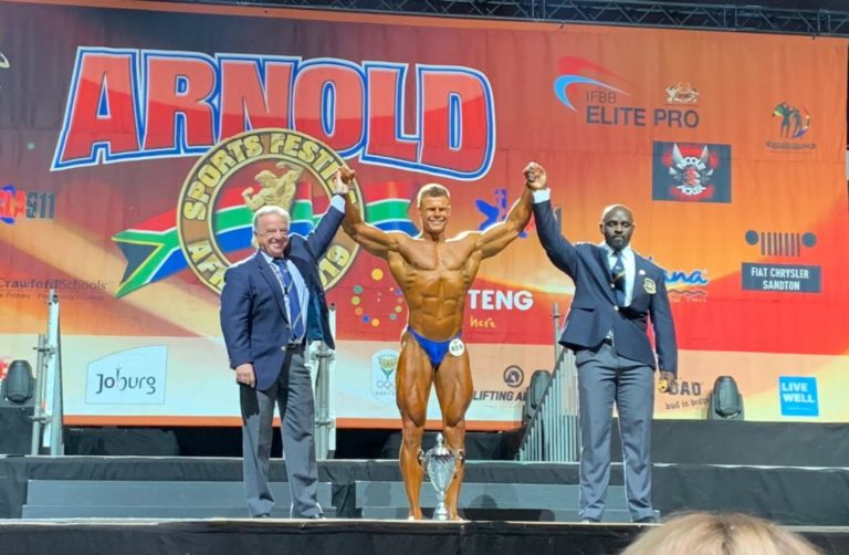 OFFICIAL RESULTS: 2019 Arnold Classic Africa – Amateur