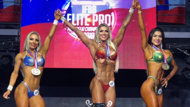 Another great IFBB event in Chile