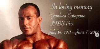 death Gianluca Catapano