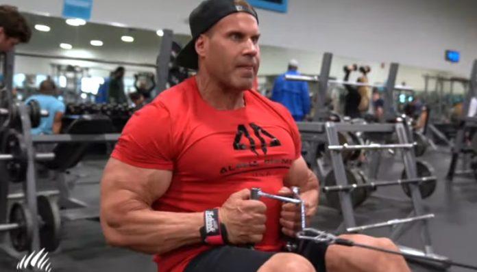 Jay Cutler - Back training