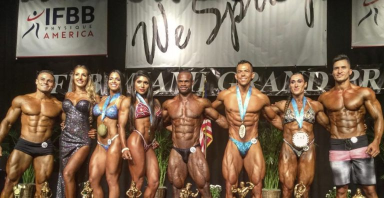 RESULTS & PHOTOS: 2019 IFBB Miami Grand Prix – A great success