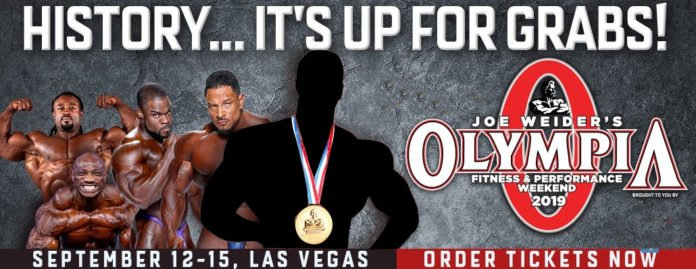 2019 Mr. Olympia damage control