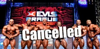 EVLS Prague Showdown cancelled