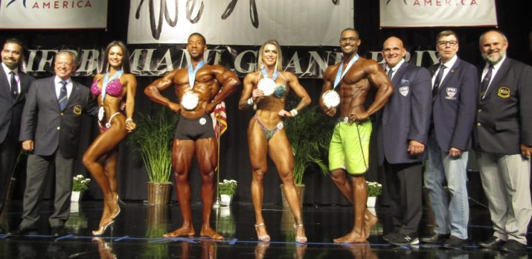 RESULTS & PHOTOS: 2019 IFBB Physique America Elite Pro Miami