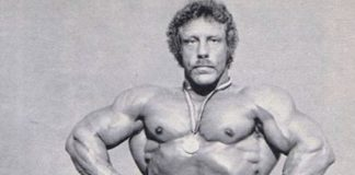 Bodybuilding legend Kent Kuehn