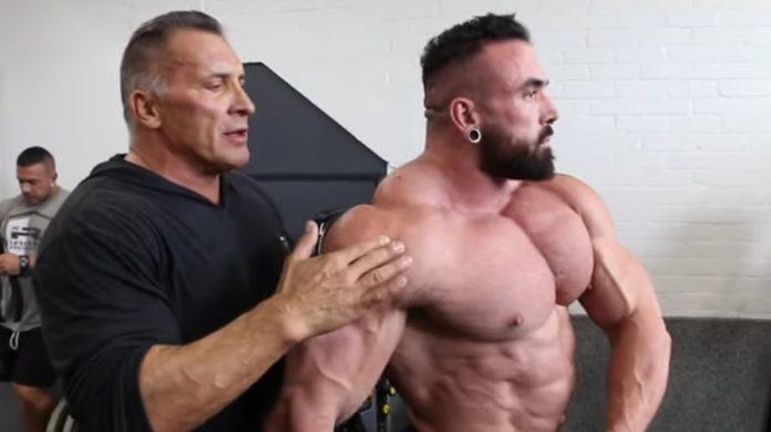 Milos Sarcev Luke Sandoe posing tips