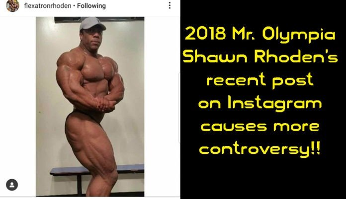 Controversy surrounds Shawn Rhoden