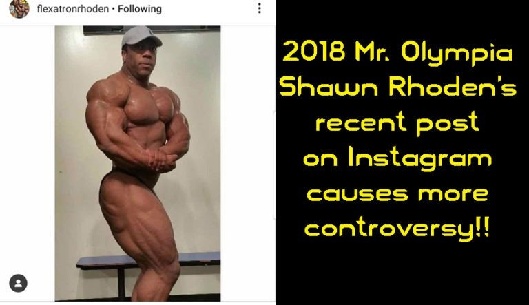 Controversy surrounds recent photo of Shawn Rhoden… Is it new or old?