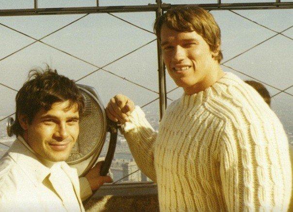 Schwarzenegger's heartfelt tribute franco Columbo