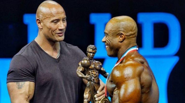 Dwayne 'The Rock' Johnson's money can't buy bodybuilding history