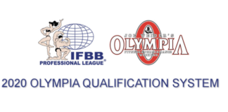 2020 Olympia Qualification System