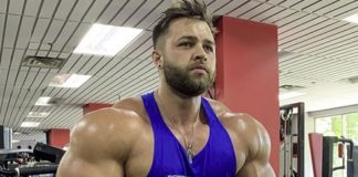 Regan Grimes looking massive