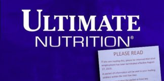 Ultimate Nutrition closes