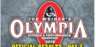 OFFICIAL RESULTS: 2019 Olympia Weekend – Day 2