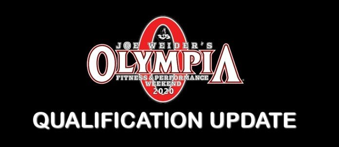 2020 Olympia Weekend Qualification List