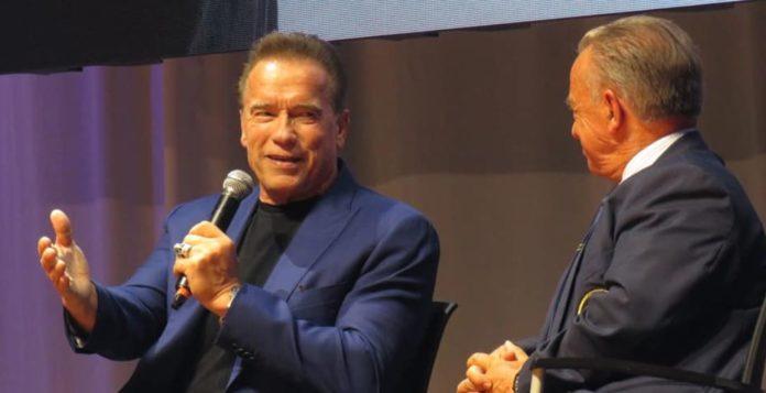 Arnold Schwarzenegger Barcelona classic