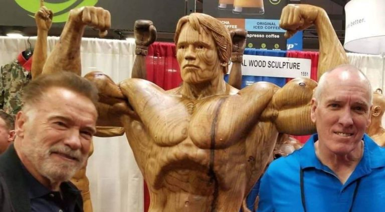 James O'Neal – The man behind Arnold and Franco's wooden statues