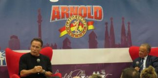 results arnold classic europe
