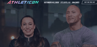 Athleticon rock dwayne johnson