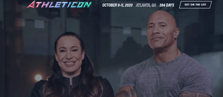 BREAKING NEWS: 'Athleticon' –  the new event by Dwayne Johnson