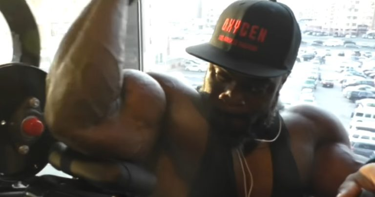 WATCH: Brandon Curry 18 days out from the 2019 Mr. Olympia