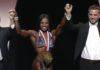 Cydney Gillon wins olympia figure