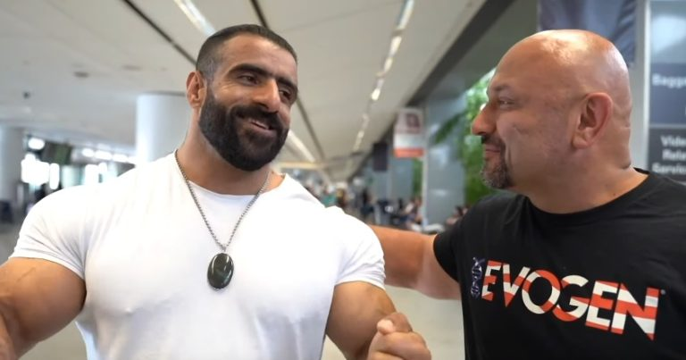 WATCH: Hany Rambod squashes Hadi Choopan 2019 Olympia rumors