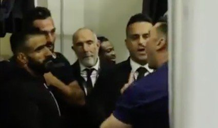 WATCH: Heated exchange between Hadi Choopan and Oxygen Gym officials