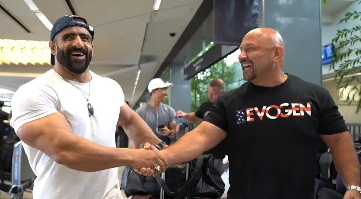 WATCH: Coming to America – Hadi Choopan arrives for the 2019 Olympia Weekend