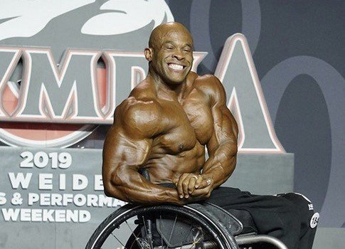 RESULTS 2019 Olympia: Harold Kelley wins the Wheelchair Olympia