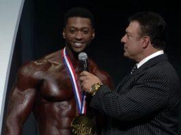 Raymond Edmonds physique olympia