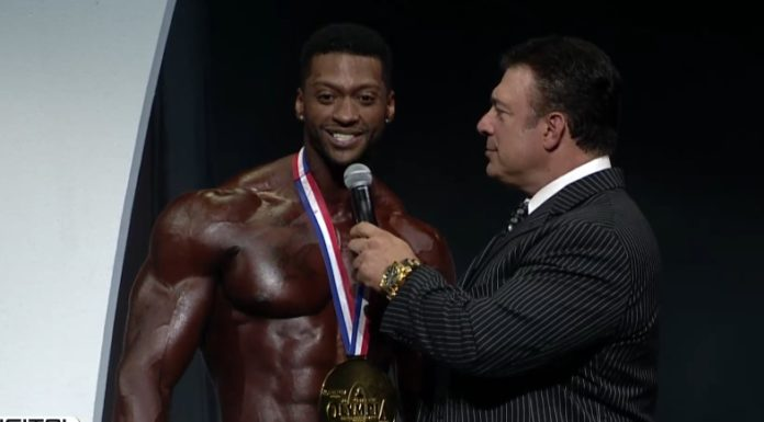Raymond Edmonds physique olympia