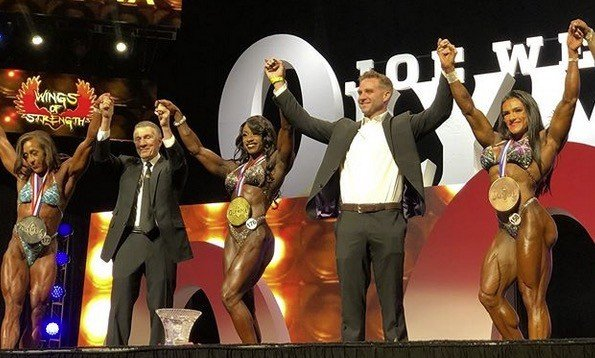 Shanique Grant olympia physique