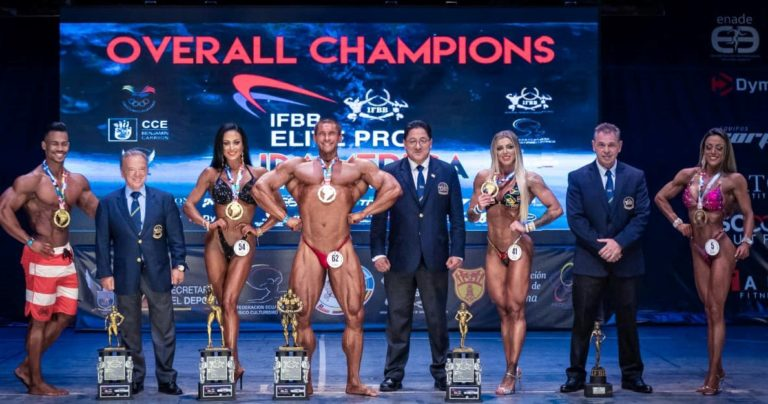 RESULTS & PHOTOS:  2019 IFBB Elite Pro South America