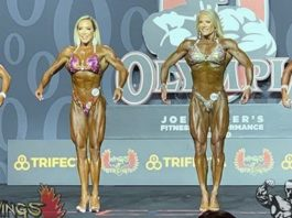 Women's Fitness Callout olympia