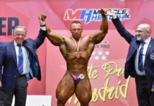 RESULTS 2019 IFBB Elite Pro Madrid