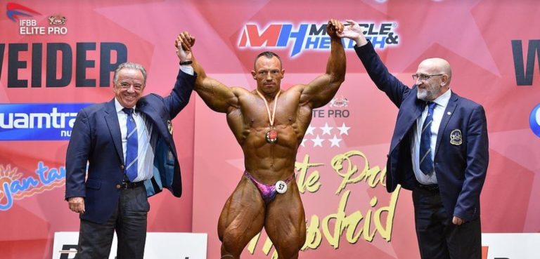 RESULTS & PHOTOS: 2019 IFBB Elite Pro Madrid