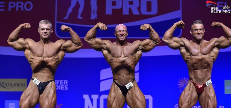 RESULTS: Mika Sihvonen wins the 2019 IFBB Nocco Nordic Pro