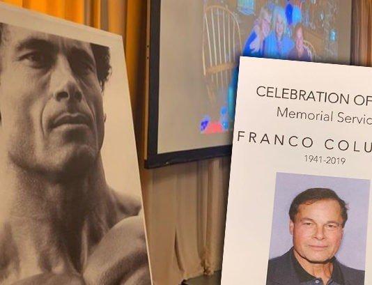 Memorial Service for Franco Columbu