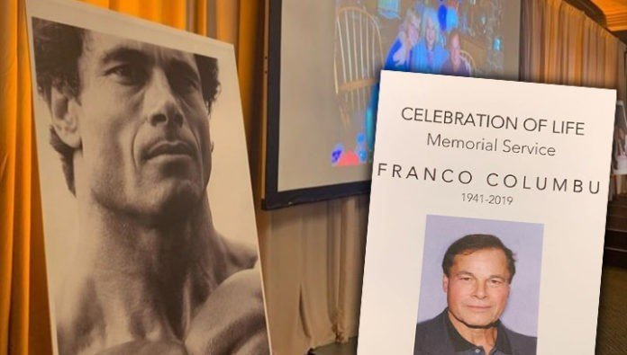 Memorial Service for Franco Columbu