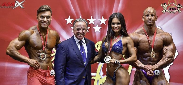 COMPETITORS LIST: 2019 IFBB Elite Pro Madrid