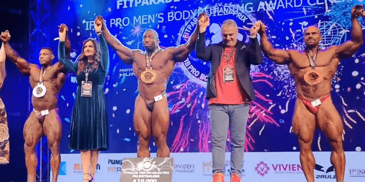 RESULTS: Cedric McMillan wins the 2019 Fitparade Hungary Pro