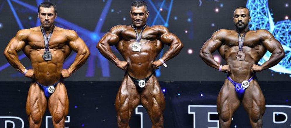 china IFBB Amateur Men's bodybuilding's championships