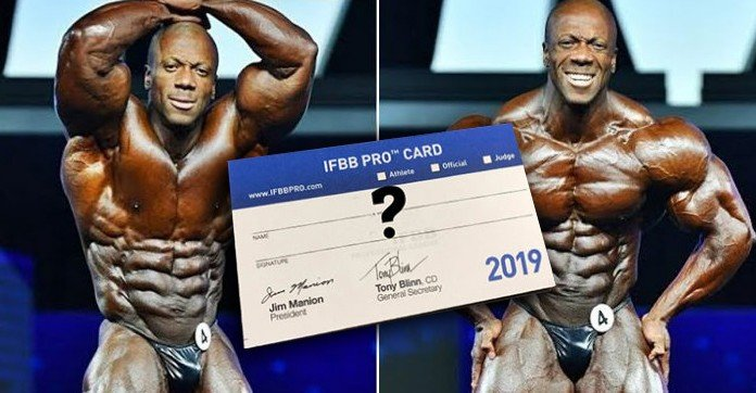 Shawn Rhoden is currently not a member of the IFBB Professional League