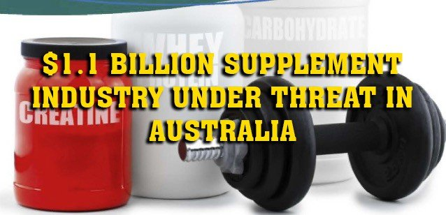 supplements australia law threat