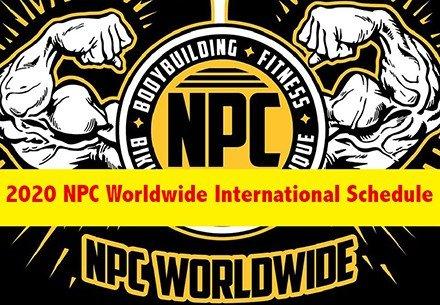 2020 NPC Worldwide Schedule