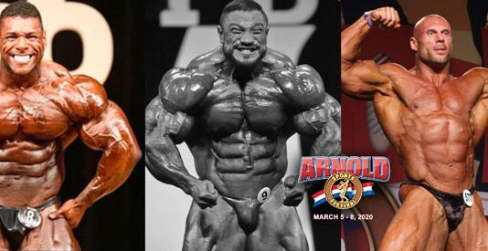 Who's in and who's out of the 2020 Arnold Classic USA