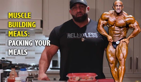 packing meals muscle building