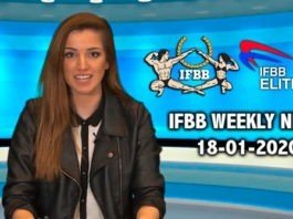 WATCH: IFBB Weekly News 18-01-2020